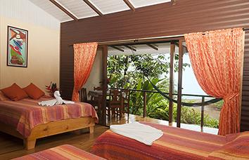 cheap cabins south pacific, pirate cove hotel, scuba diving costa rica