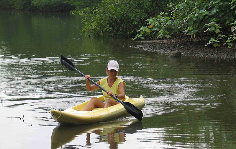 Kayaking Tour in Sierpe River, Drake Bay, Osa Peninsula